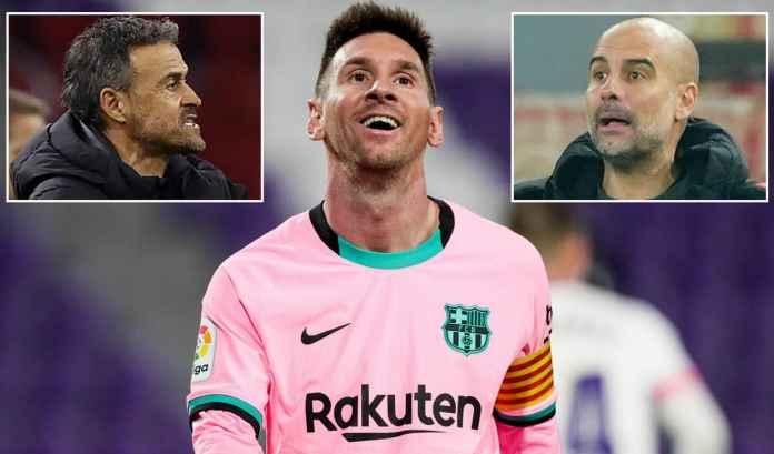 Lionel Messi Sebut Pep Guardiola dan Luis Enrique Pelatih Terbaik Barcelona