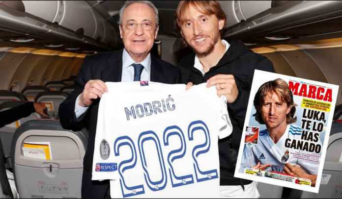 Luka Modric Sepakati Kontrak Satu Tahun, Ingin Pensiun di Real Madrid