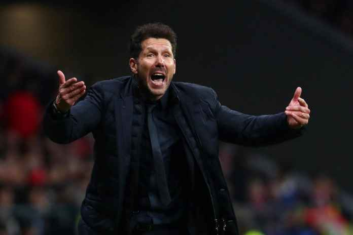 Simeone Beri Imbauan ke Fans Jelang Laga Sociedad