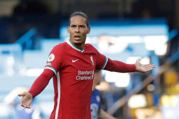 Virgil van Dijk Berhasil Curi Perhatian Peraih Ballon d'Or