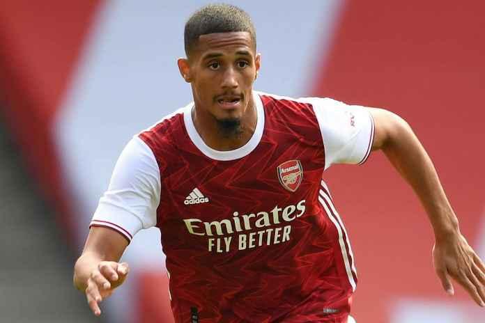 William Saliba Bakal Gabung ke Klub Legenda Arsenal