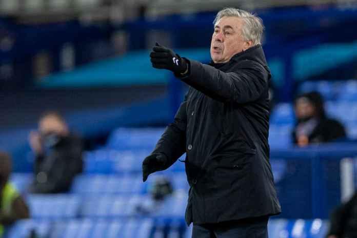 Ancelotti Tidak Yakin Untuk Membawa Everton Meraih Trofi
