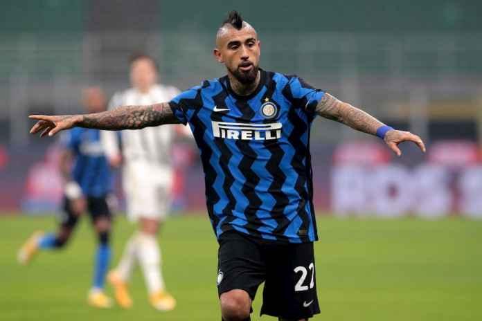 Arturo Vidal Bakal Jadi Kunci Inter Raih Trofi