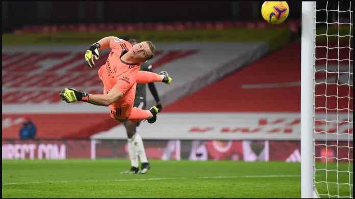 Arsenal vs Manchester United Masih 0-0, Bernd Leno Berperan Besar Selamatkan Gunners