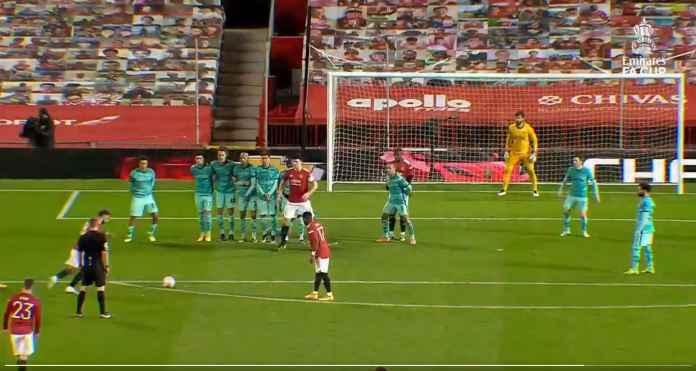Liverpool Patah Hati Melihat Tendangan Bebas Manchester United Ini