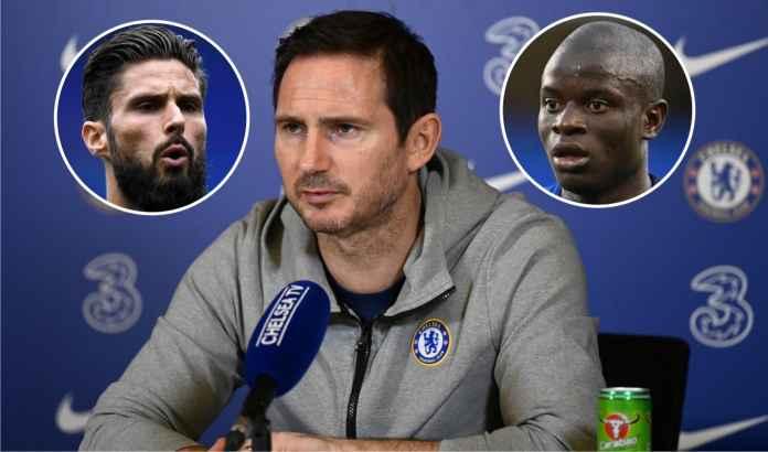 Frank Lampard Update Kondisi Terbaru Olivier Giroud & N'Golo Kante