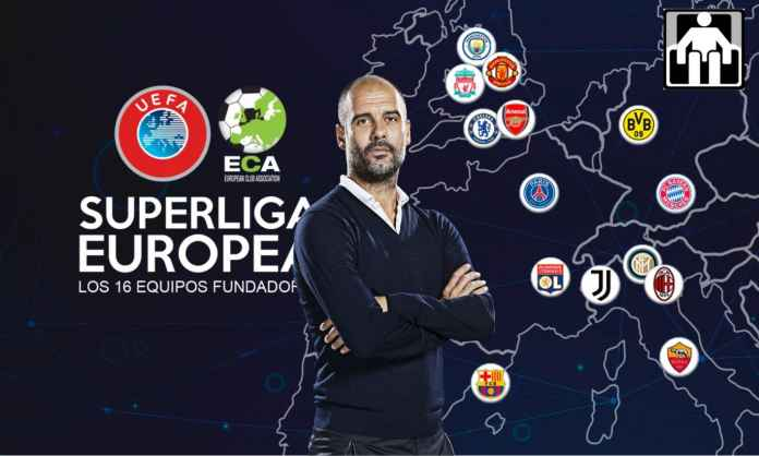 Pep Guardiola Tolak Liga Super Eropa Meski Diiming-Iming Duit 6 Trilyun Rupiah