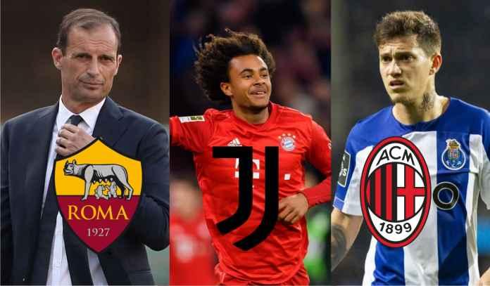 Update Transfer Serie A : Juventus Bidik Duo Bayern, Roma Siap Jual Dzeko