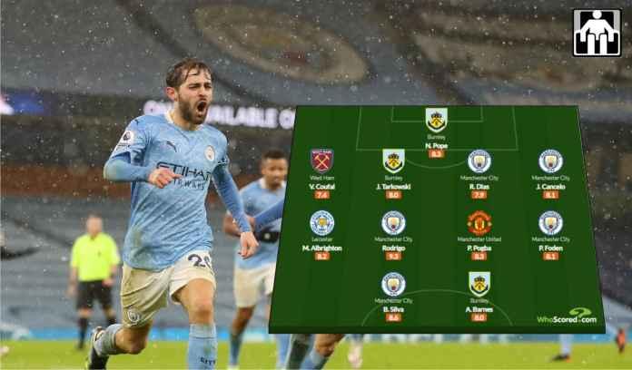 Kesebelasan Terbaik Liga Inggris Pekan Ini, Ada Lima Pemain Manchester City