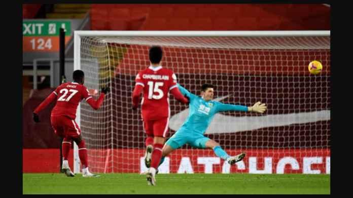 Liverpool Gagal Ungguli Burnley, Origi Buang Peluang dan Pertikaian Fabinho-Barnes