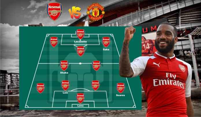 Prediksi Formasi Arsenal vs Manchester United, Smith-Rowe Cedera, Odegaard Debut?