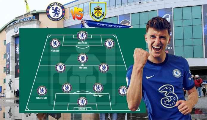 Prediksi Formasi Chelsea vs Burnley, Saatnya Tuchel Panggil Kembali Mount & Pulisic!