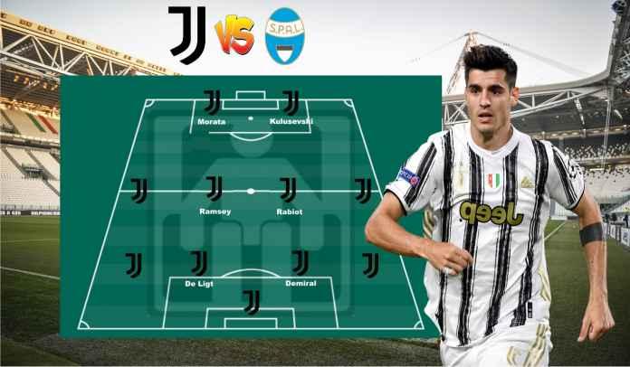 Prediksi Formasi Juventus vs SPAL, Ronaldo Diistirahatkan, Alex Sandro Sudah Negatif