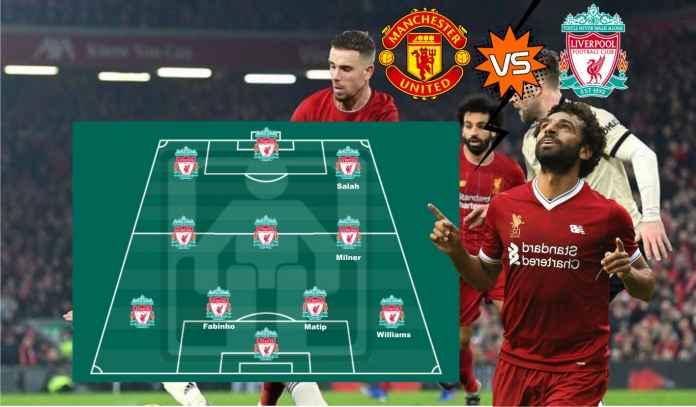 Prediksi Formasi Liverpool vs Man Utd : Jurgen Klopp Pastikan Mohamed Salah Starter
