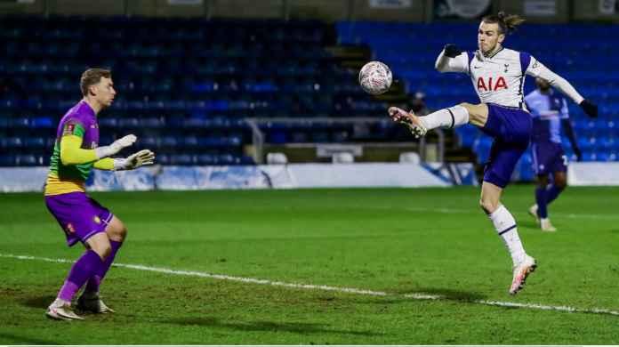 Hasil Piala FA Tadi Malam: Gareth Bale Cetak Gol Tapi Tottenham Menang Susah Payah di Wycombe