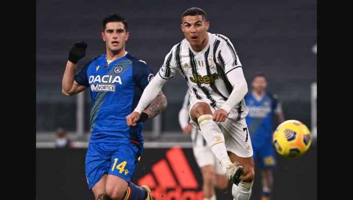 Ronaldo Dua Gol ke Gawang Udinese Tadi Malam, Hanya 8 Jam Saja Lukaku Samai CR7