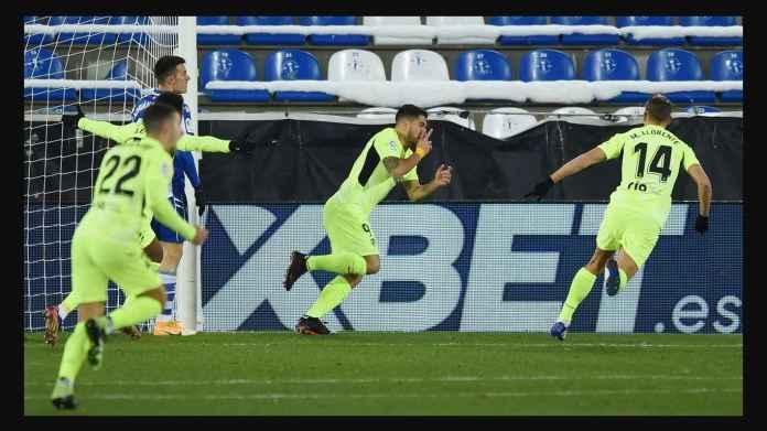 Hasil Liga Spanyol Tadi malam: Atletico menempati posisi teratas Liga Spanyol dari Real Madrid
