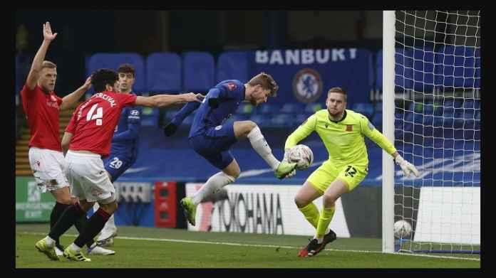 Hasil Piala FA Tadi Malam: Chelsea dan Manchester City Sama-sama Pesta Gol