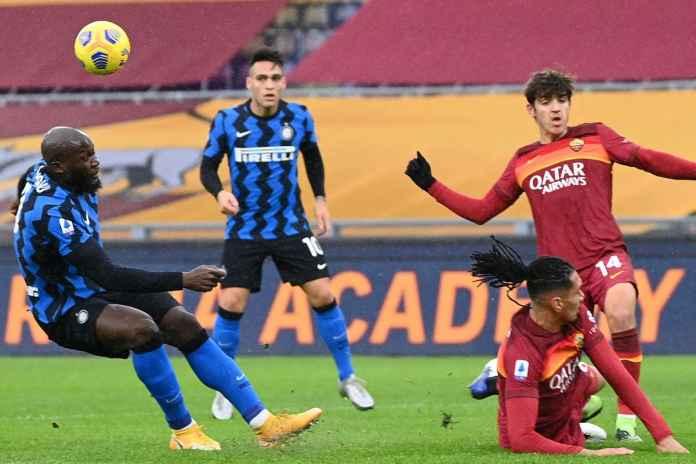 Hasil AS Roma vs Inter Milan, Gol Gianluca Mancini Selamatkan Roma dari Kekalahan
