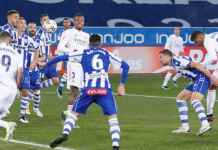 Hasil Alaves vs Real Madrid - Liga Spanyol - Casemiro Karim Benzema Eden Hazard