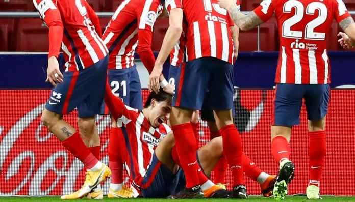 Hasil Atletico Madrid vs Valencia - Hasil Liga Spanyol - Joao Felix
