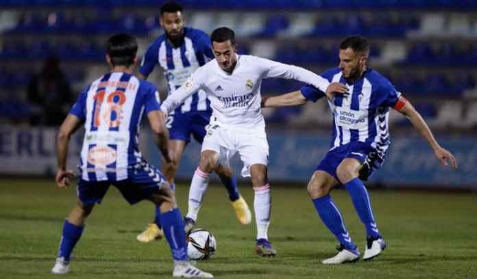 Hasil Copa Del Rey Tadi Malam - Alcoyano vs Real Madrid