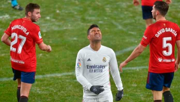 Hasil Liga Spanyol - Hasil Osasuna vs Real Madrid