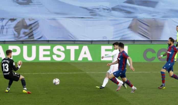 Hasil Real Madrid vs Levante di Liga Spanyol skor akhir