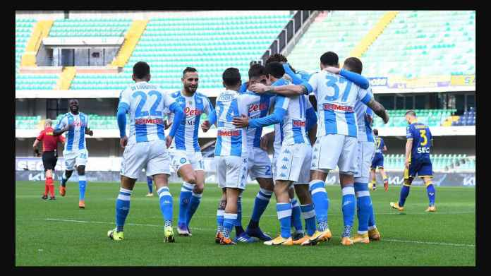 Hasil Liga Italia: Napoli Gol 9 Detik, Eh Buang Kesempatan Lewati Juventus, Kalah di Verona