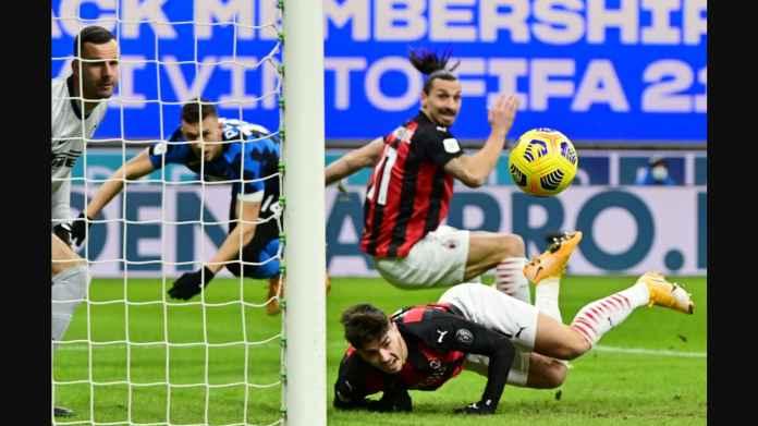 Hasil Coppa Italia: Ibra Kartu Merah, Lukaku Nyaris Adu Jotos, Inter Diselamatkan Eriksen