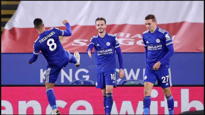 Hasil Liga Inggris Tadi Malam: Leicester Isi Celah Antara Manchester United dan Liverpool