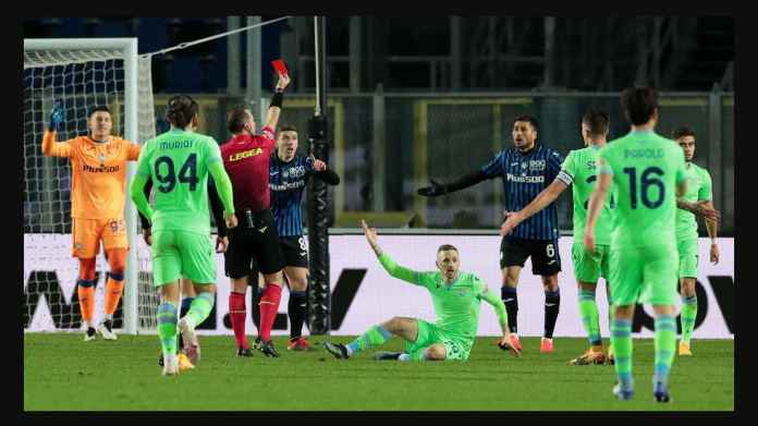 Hasil Coppa Italia: Atalanta Kartu Merah! Tetap Saja Lolos Semi Final, Kalahkan Lazio