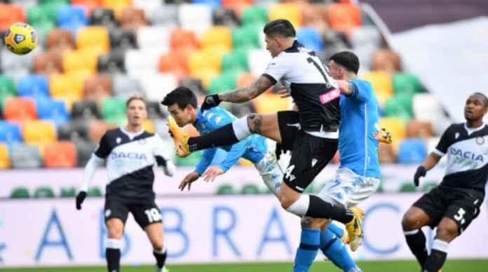 Hasil Udinese vs Napoli, Langkahi Juventus Partenopei Merangsek Papan Atas