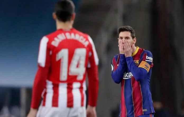 Barcelona lega, Lionel Messi hanya mengizinkan dua pertandingan