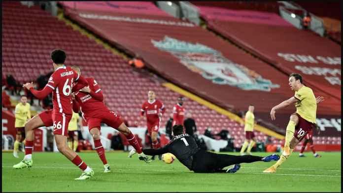 Hasil Liga Inggris: Liverpool Kalah 0-1! Tertinggal 6 Poin di Bawah Manchester United