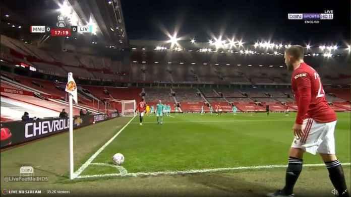 Liverpool Unggul Melalui Mo Salah Berkat Kesalahan 2 Pemain Man United Ini
