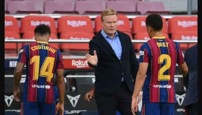 Soal Transfer Musim Dingin, Manajer Barcelona Cuma Bisa Pasrah