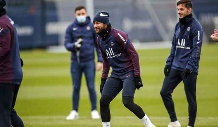 Neymar Kembali ke Latihan Paris Saint-Germain Jelang Piala Super Prancis