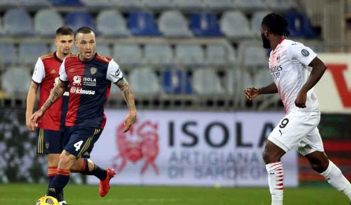 Radja Nainggolan Geram Cagliari Kalah, Sebut AC Milan Dapat Gol-Gol Naif