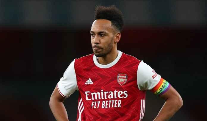 Arsenal Pastikan Pierre-Emerick Aubameyang Absen Kontra Manchester United