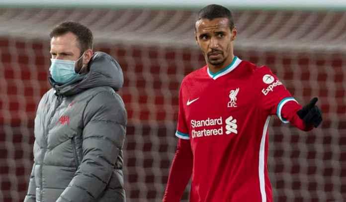Joel Matip Masih Cedera, Liverpool Tanpa Bek Tengah Hadapi Manchester United