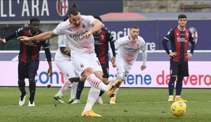 Ibrahimovic Lagi-Lagi Gagal, Kessie : Dia Tetap Eksekutor, Penalti Penting Bagi Striker