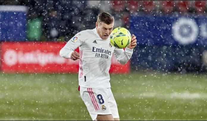 Madrid Ditahan Osasuna, Toni Kroos Tak Ingin Salahkan Lapangan Bersalju