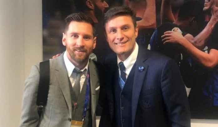 Javier Zanetti Bisa Jadi Kunci Kepindahan Lionel Messi ke Inter Milan