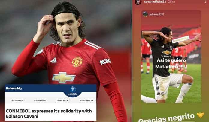 CONMEBOL Beri Dukungan Solidaritas, Kritik Sanksi FA Untuk Edinson Cavani