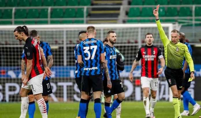 Tak Terima Keok dari Inter Milan, Stefano Pioli : Milan Kalah Karena Kartu Merah!