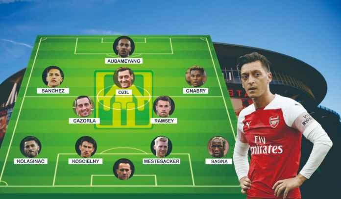 Tim Terbaik Arsenal Menurut Mesut Ozil, Termasuk Alexis Sanchez & Serge Gnabry
