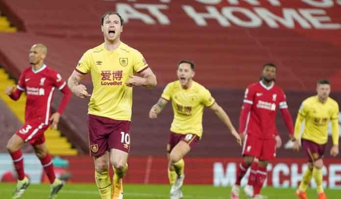 Rapor Pemain Liverpool 0-1 Burnley, Akhir Rekor 68 Laga Kandang Tak Terkalahkan