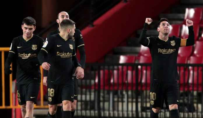 Rapor Pemain Barcelona Menang 4-0 di Granada, Messi Dua Tembakan, Dua Gol!
