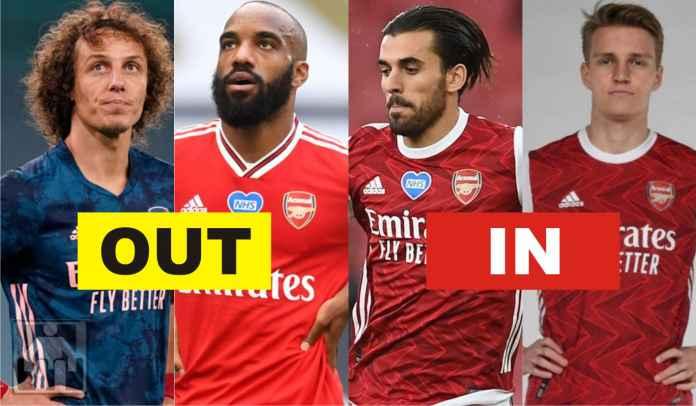 Cuci Gudang, Arsenal Ingin Lepas Sembilan Pemain, Permanenkan Tiga Pinjaman